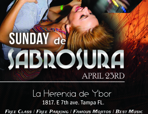 "Sunday de Sabrosura ""April Edition"""