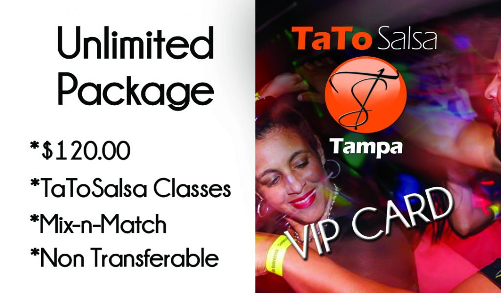 This package is designed for those dancers that would like to take full advantage of all classes offered.