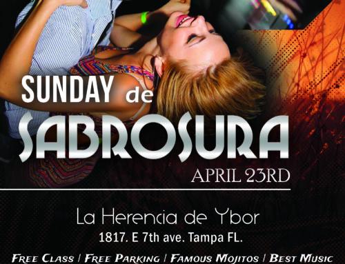 "Sunday de Sabrosura ""April Edition"""