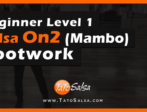 Beginner Level 1 Salsa On2 (Mambo) Footwork