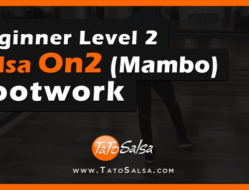 Beginner Level 2 Salsa On2 (Mambo) Basic Footwork